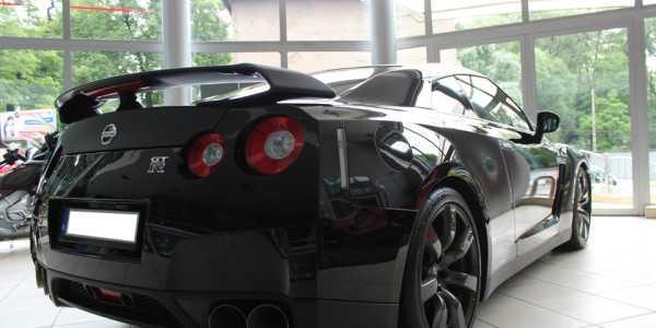 Nissan GTR po zabezpieczeniu lakieru