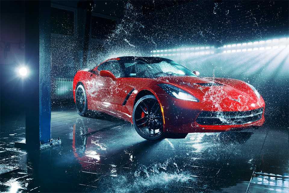 mycie samochodów luksusowych