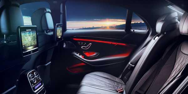 Zabezpieczenie wnętrza Mercedes-Benz S klasa