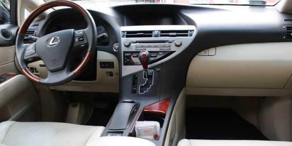 Lexus RX350 czyszczenie wnętrza