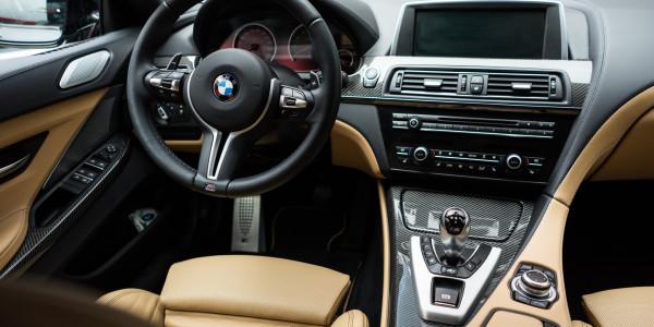 BMW M6 po zabezpieczeniu skór powłokami Gtechniq