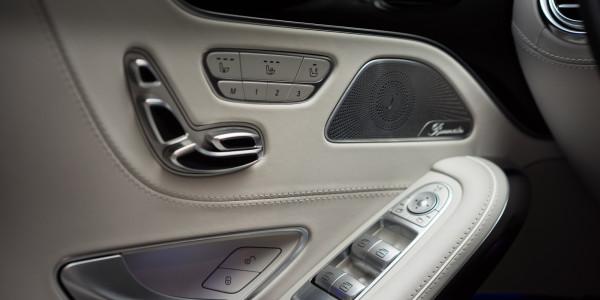 Zabezpieczenie elementów skórzanych w Mercedes S Coupe